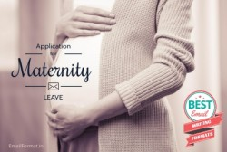 Maternity Leave Application, sample format