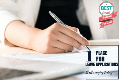 Leave Application | Leave Application Format for Office and School